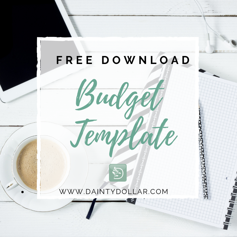 excel budget template free download dainty dollar budget