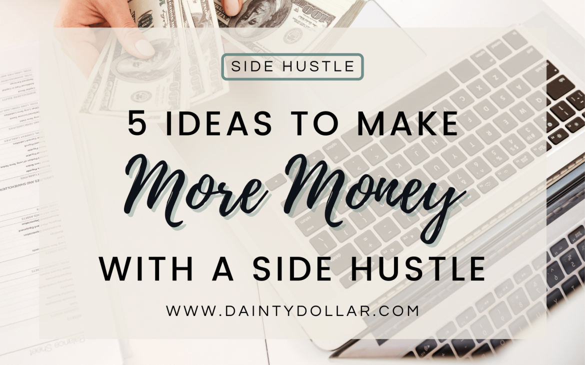 Make More Money With A Side Hustle