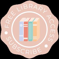 Dainty Dollar Free Library Access Sticker